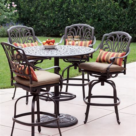 bar height patio dining set bar height patio set newsonair org