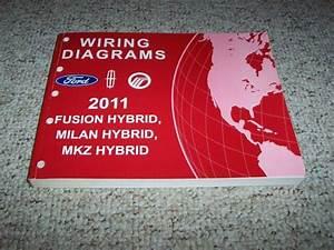 2011 Ford Fusion Hybrid Electrical Wiring Diagram Manual 3
