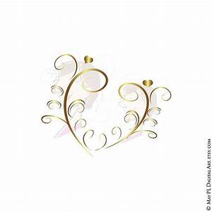 Elegant Heart Clipart - Clipart Suggest