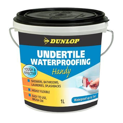 dunlop 1l undertile waterproofing ebay