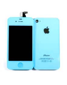 iphone light iphone 4 conversion kit light blue gsm colors iphone 4