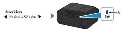 configuration de la connexion sans fil pour imprimante