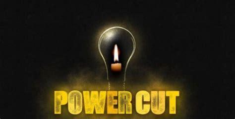 power cut schedule