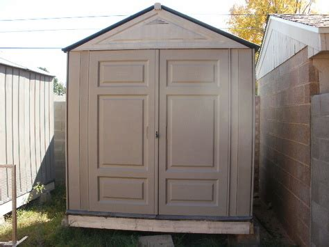 Rubbermaid Outdoor Tool Shed by How To Build A Roof For A Shed