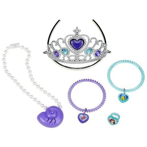 disney princess ariel lights  sound jewelry set toys