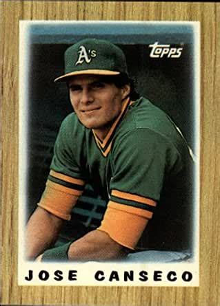 Apr 01, 2020 · 8. Amazon.com: 1987 Topps Mini Leaders Baseball Card #68 Jose Canseco Near Mint/Mint: Collectibles ...
