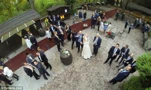 wedding planning certification drones take wedding photography to whole new levels of candid