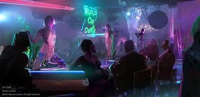 Artstation Cyberpunk Yi 2047 Aesthetic Concept 2077