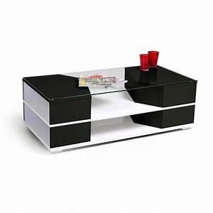 Table Basse En Verre Pas Cher : table basse pas cher noir conceptions de maison ~ Preciouscoupons.com Idées de Décoration