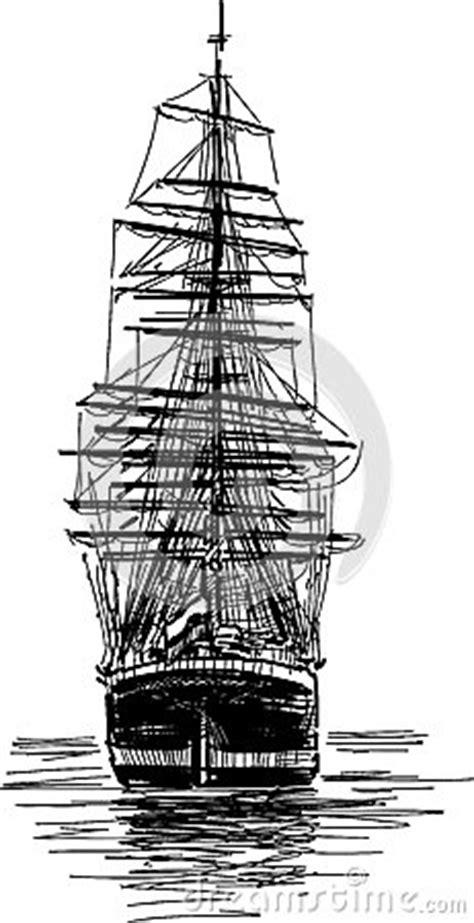 big sailing ship stock photo image
