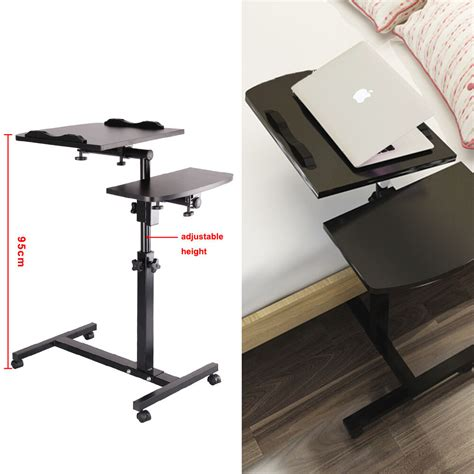 portable standing laptop desk adjustable portable laptop lazy table stand sofa bed