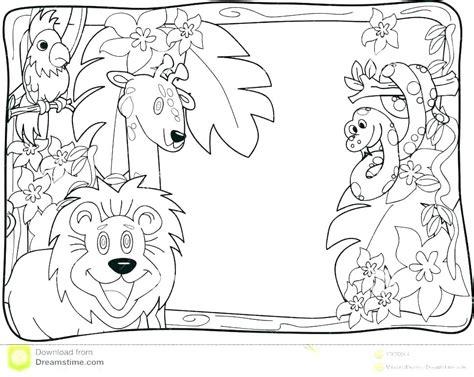 Jungle Animals Cut Outs Animal Cutouts Printable