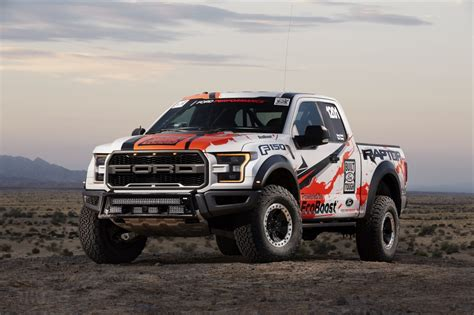2017 F-150 Ford Raptor Race Truck 4k Uhd Wallpaper