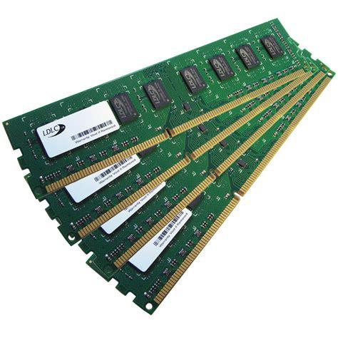 ordinateur de bureau ssd ldlc 16 go 4x 4 go ddr3 1333 mhz cl9 mémoire pc ldlc