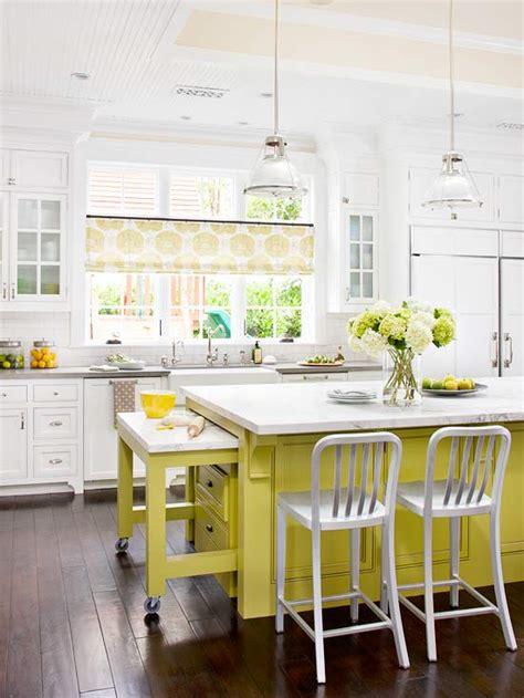 paint kitchen island yellow kitchen islands