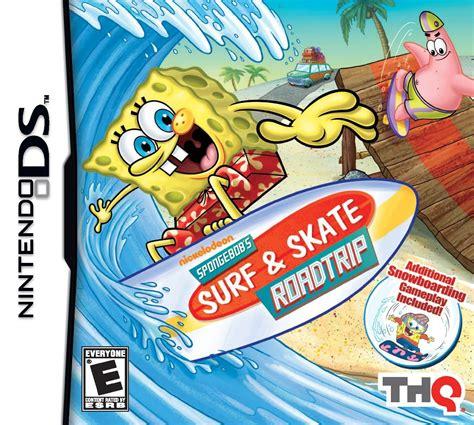 Spongebobs Surf Skate Roadtrip Ds Game