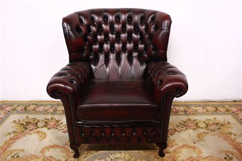 Chesterfield Chair Chester Original English Bergere Monk
