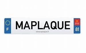 Plaque Immatriculation Personnalisée Prénom : le blog eplaque le blog eplaque ~ Medecine-chirurgie-esthetiques.com Avis de Voitures