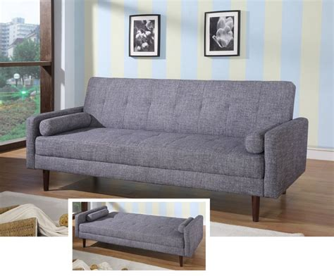 contemporary sleeper sofa bed contemporary grey or orange fabric sofa sleeper hardwood