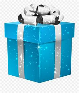 gifts png image blue gift box png free transparent png