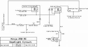 Headlight Circuit Schematic