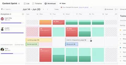 Clickup Capacity Planning Team Tools Workload Agile