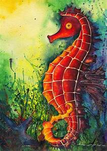 159 best images about Seahorse Art on Pinterest ...