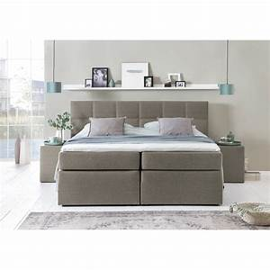 Boxspringbetten 160x200 Sale : boxspringbett bea 220x200 cm beige grau h3 ~ Watch28wear.com Haus und Dekorationen