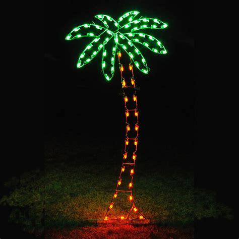 christmas lights in trees holiday lights led palm tree light display 8 8 39 h