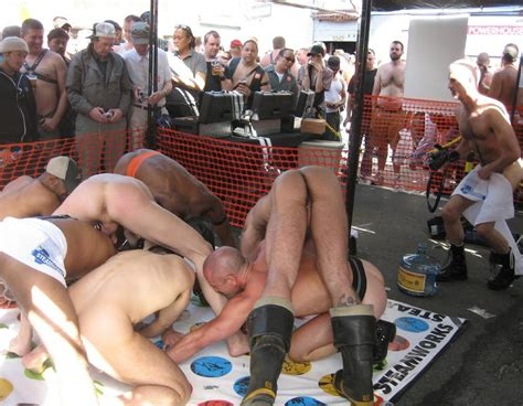 Performing Males Public Sex Show