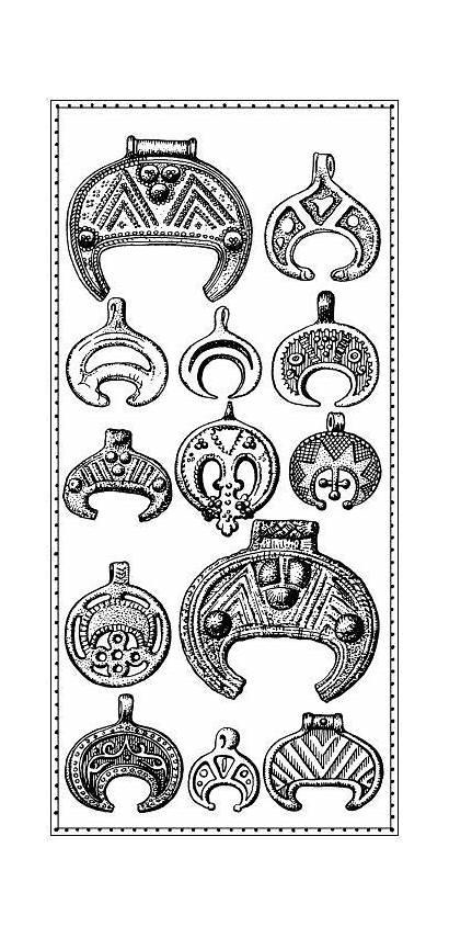 Symbols Moon Pagan Norse Viking Slavic Symbol