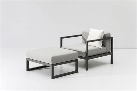 Landscape Club Armchair L With Stool