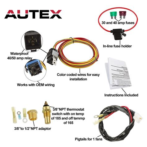 Degree Off Electric Cooling Fan Wiring