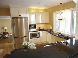 Pot lighting kitchen layout house furniture