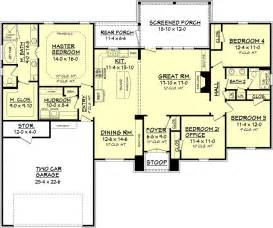 square house floor plans european style house plan 4 beds 2 baths 2000 sq ft plan 430 74