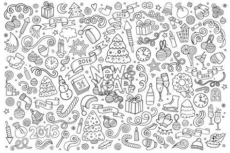 doodle happy  year  doodle art doodling adult