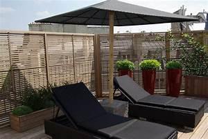 Brise Vue Pour Terrasse : pare vue terrasse brise vue vegetale pour terrasse exoteck ~ Dailycaller-alerts.com Idées de Décoration