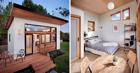 small backyard guest house  big  ideas  compact living