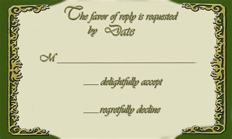 Rsvp To Match The Wedding Invite Again Legend Of Zelda