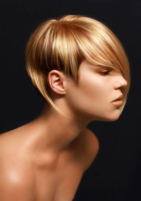 super glossy short hairstyles