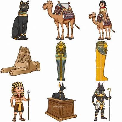 Egypt Ancient Cartoon Egyptian Clipart Camel Clip