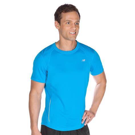 New Balance Tempo Mens Short Sleeve T-Shirt - Sweatband.com