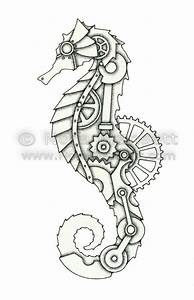 Steampunk seahorse   Inspiration for Tattoos   Pinterest ...
