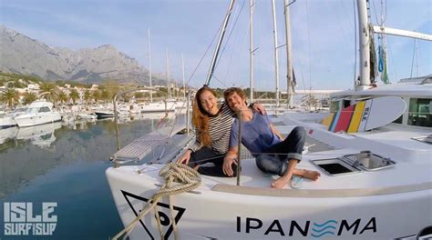 Catamaran Around The World by Sailing Paddling Around The World Blog