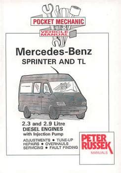 automotive service manuals 2010 mercedes benz sprinter engine control 1995 2000 mercedes benz sprinter and tl 2 3l 2 9l diesel engines with injection pump