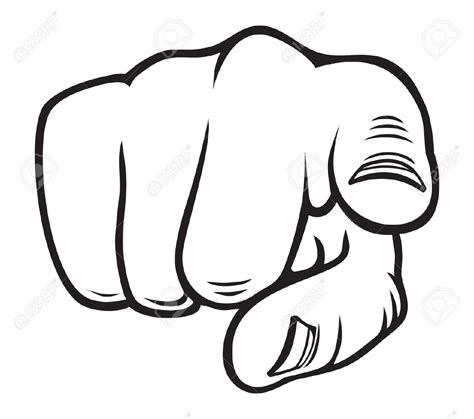 pointing finger clipart finger pointing at you www pixshark images