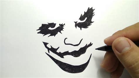 Graffiti Joker Hitam Putih : Gambar Draw Joker Suicide Squad Jared Leto Step