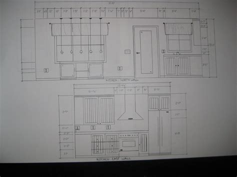 hand drafting  home interior design