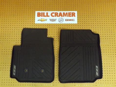 chevy colorado weathertech floor mats 22968487 2015 chevrolet colorado z71 front premium all