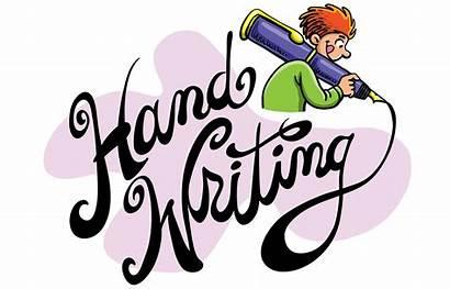 Cursive Handwriting Clipart Writing Books Grade Handwritten